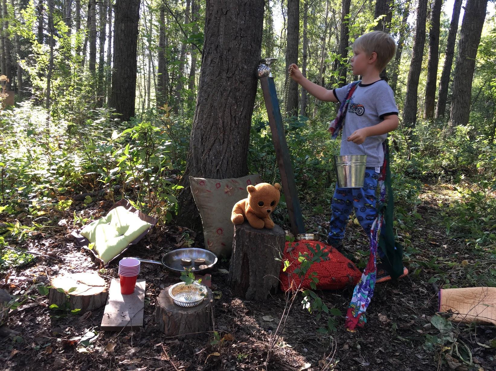 Friends in the Wild - Summer Camp