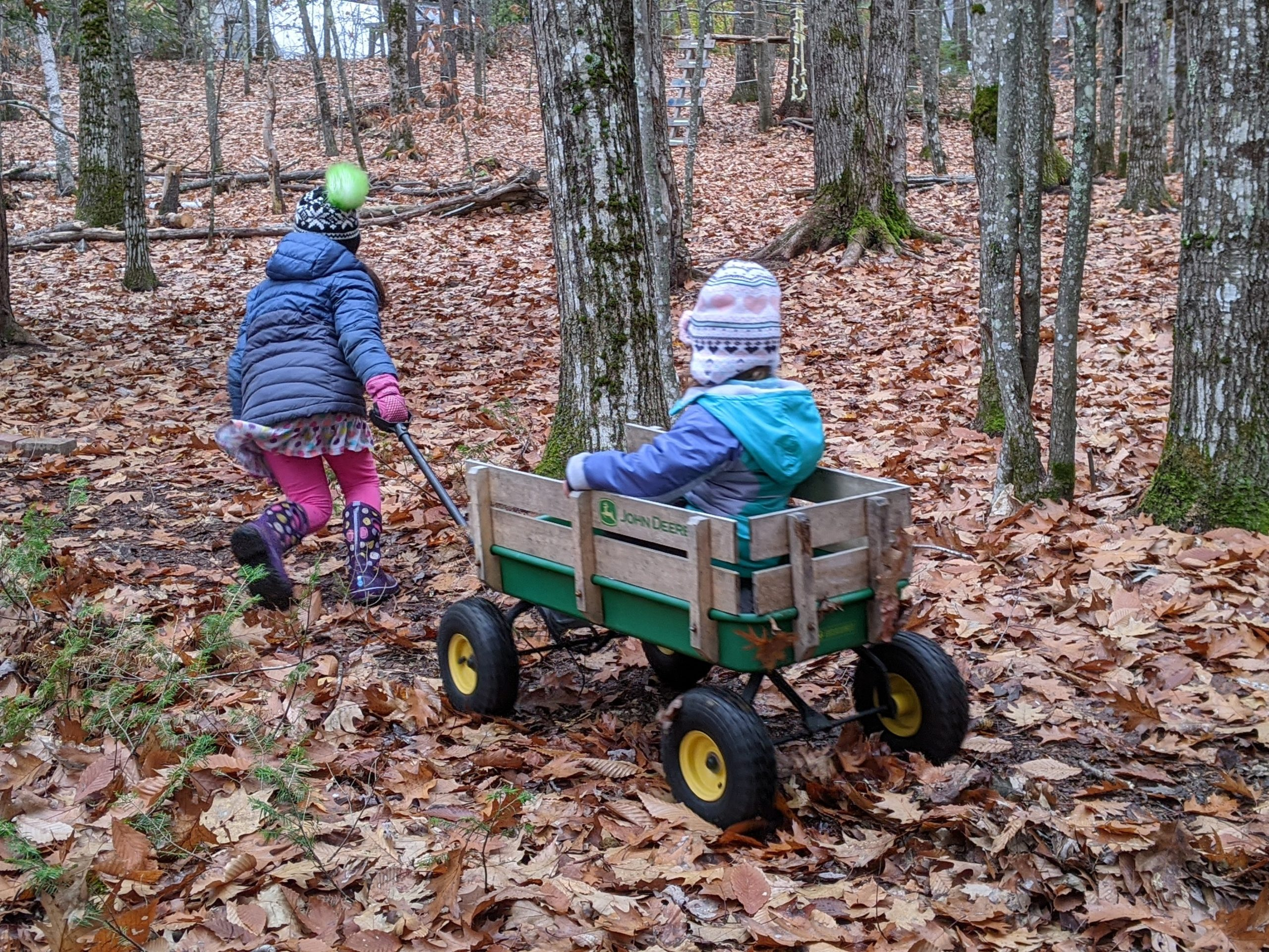Little Wild Ones – Winter/Spring 2021 – TimberNook of Greater Portland, Maine