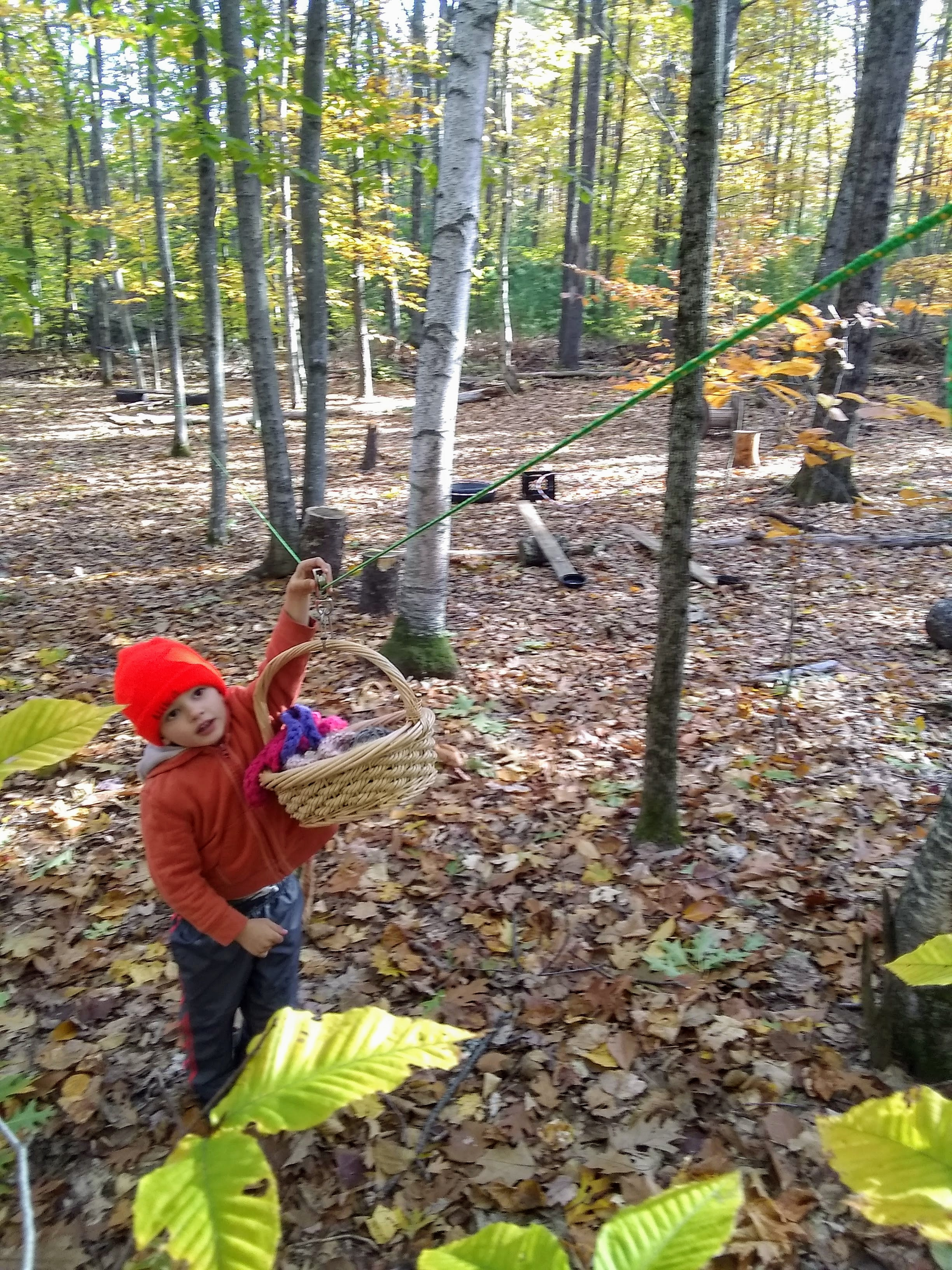 Little Wild Ones -Payment for three sessions – TimberNook of Greater Portland, Maine