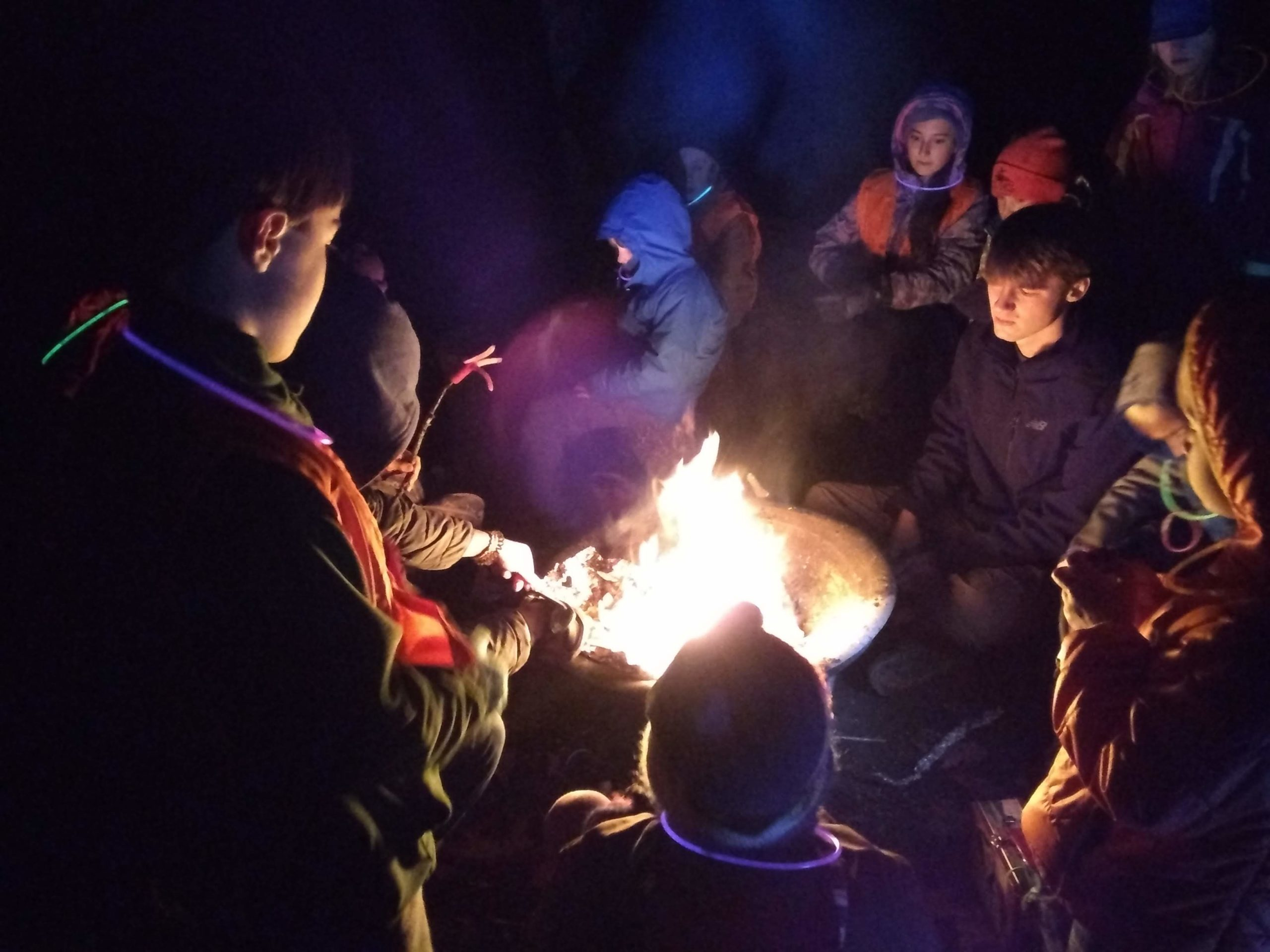 Capture the Glowstick – Jan 25 – TimberNook of Greater Portland, Maine