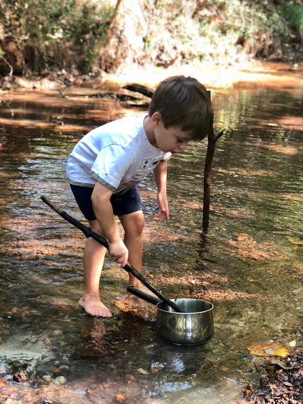 Barefoot and Buckets – TimberNook of West Georgia