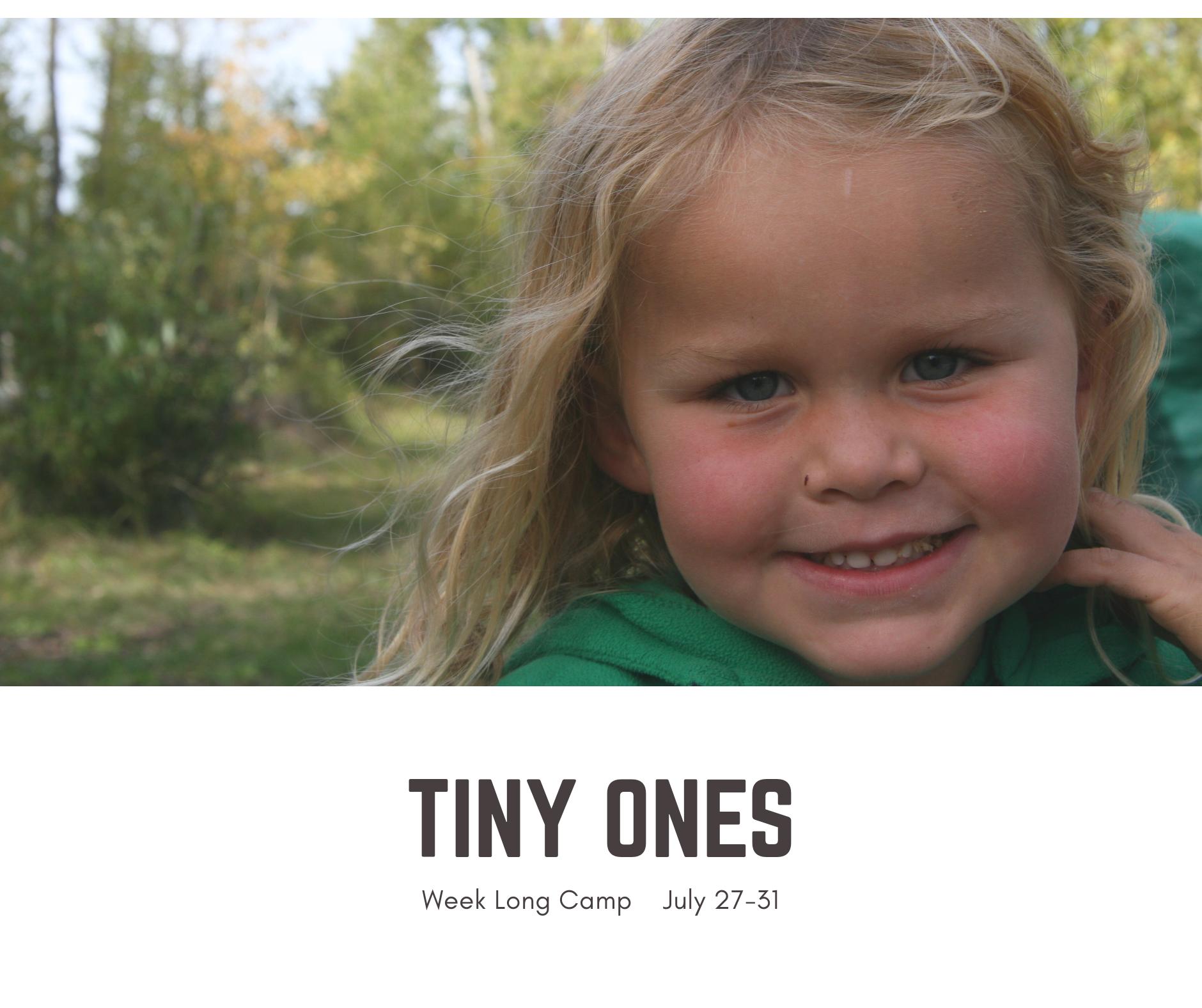 Tiny Ones 5 Day Summer Camp- TimberNook Saskatoon