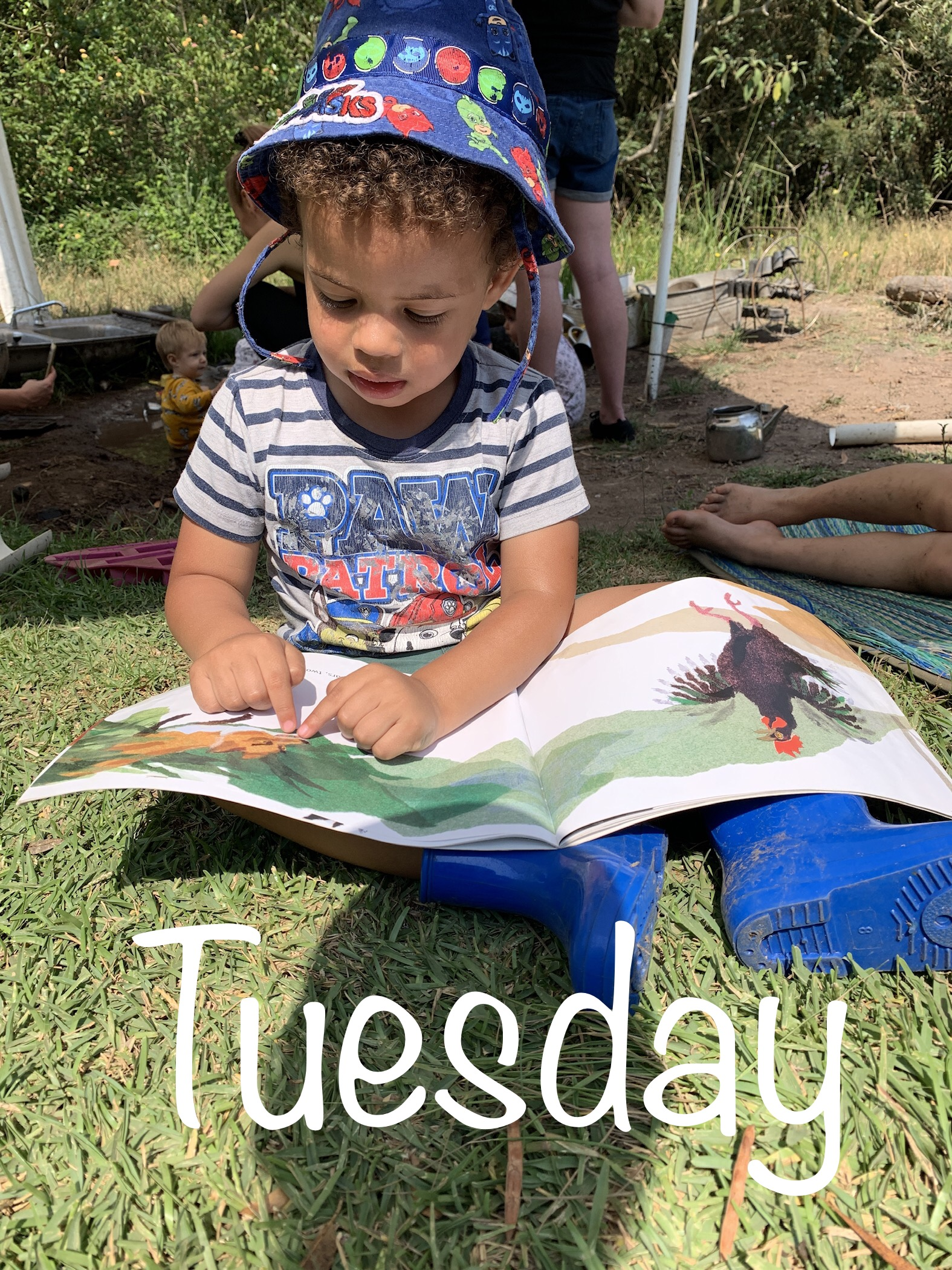 Tuesday 20th April 2021 Tiny Ones – Inspired EC