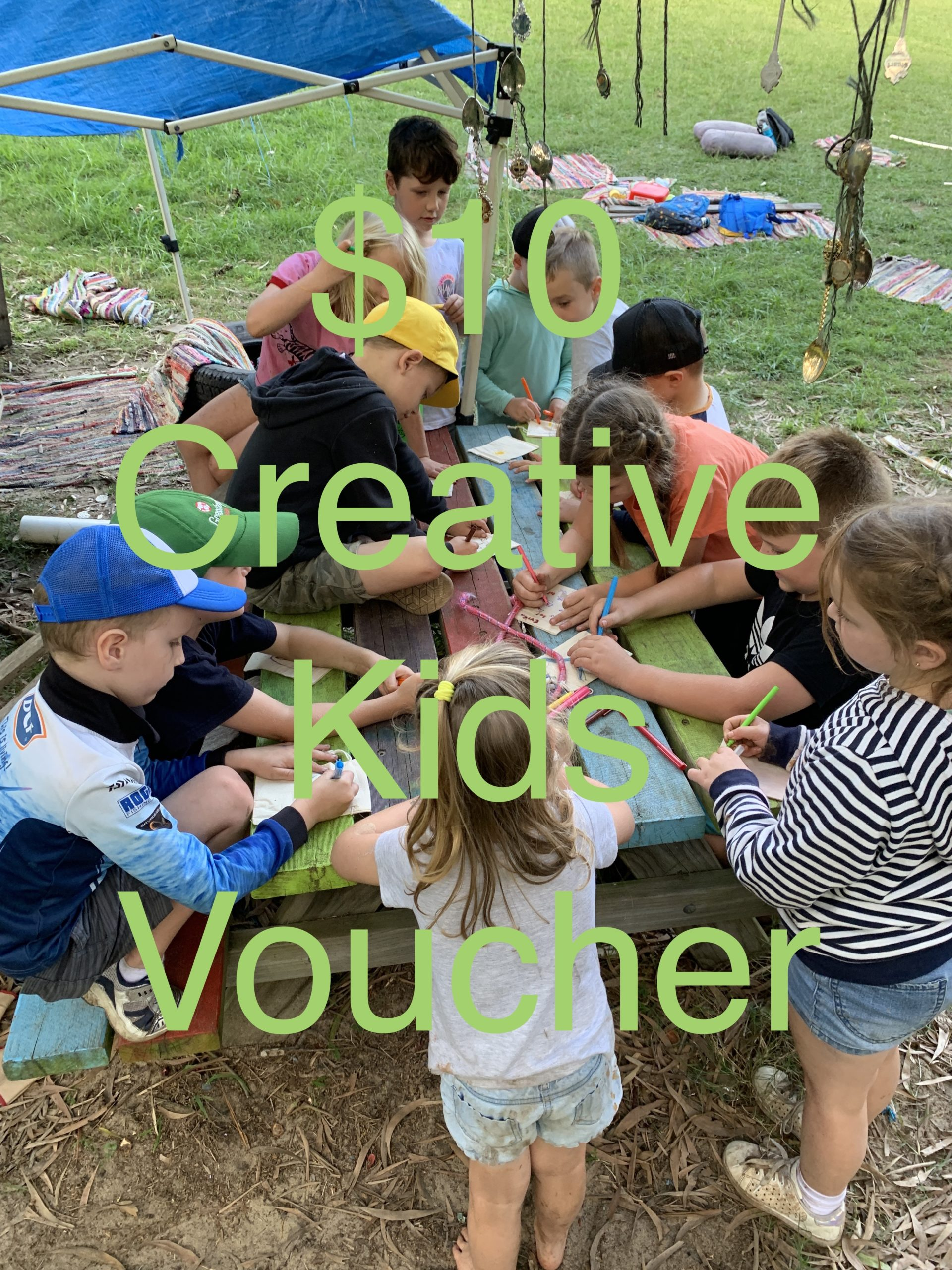 TimberNook Creative Kids Voucher Sep/Oct 2020 - Inspired EC