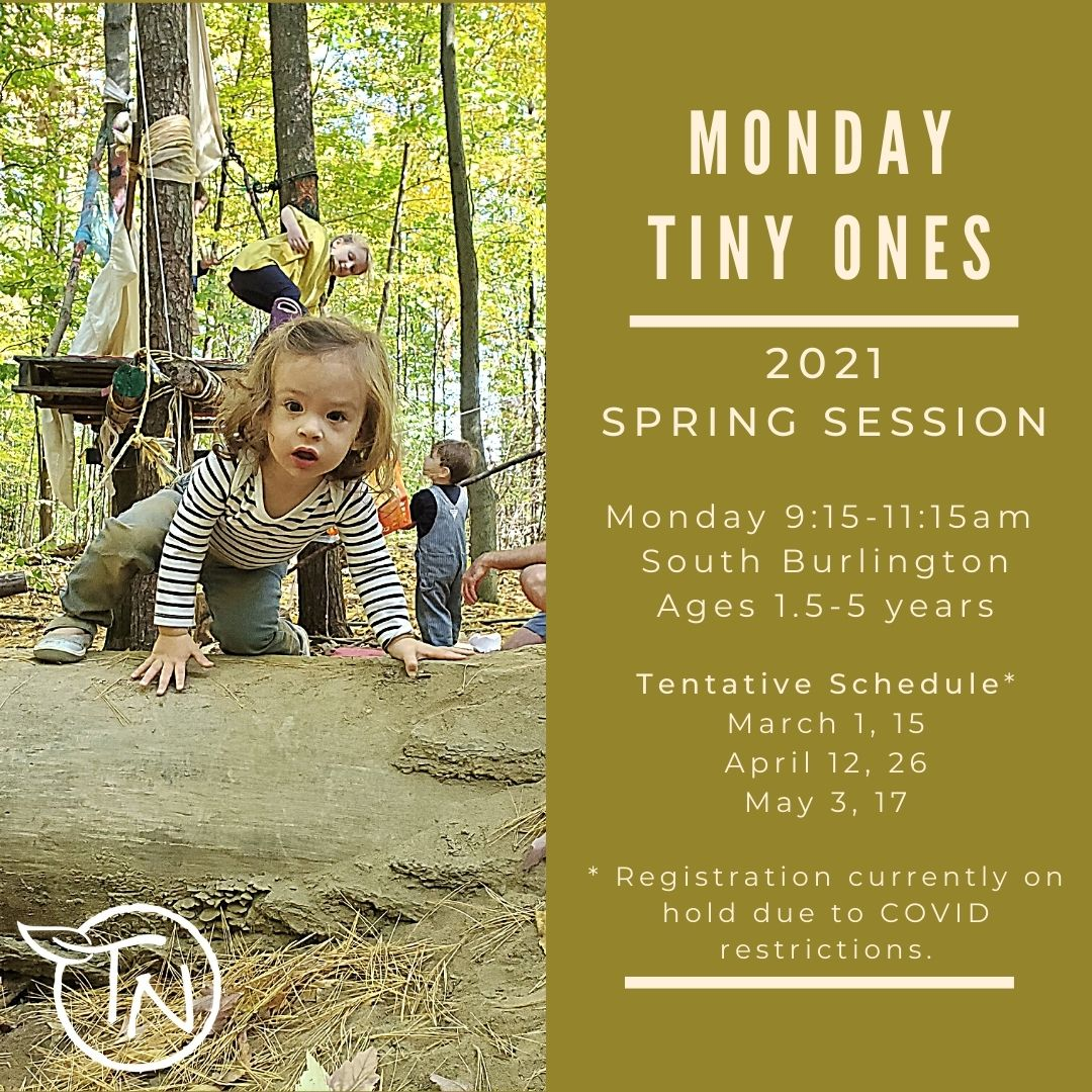 Monday Tiny Ones (So Burlington - TimberNook of Greater Burlington