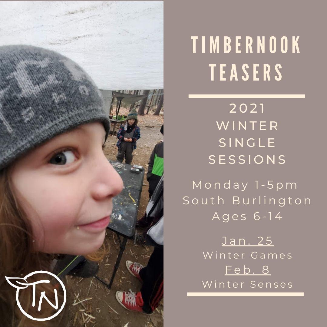 January TimberNook Teaser - TimberNook of Greater Burlington