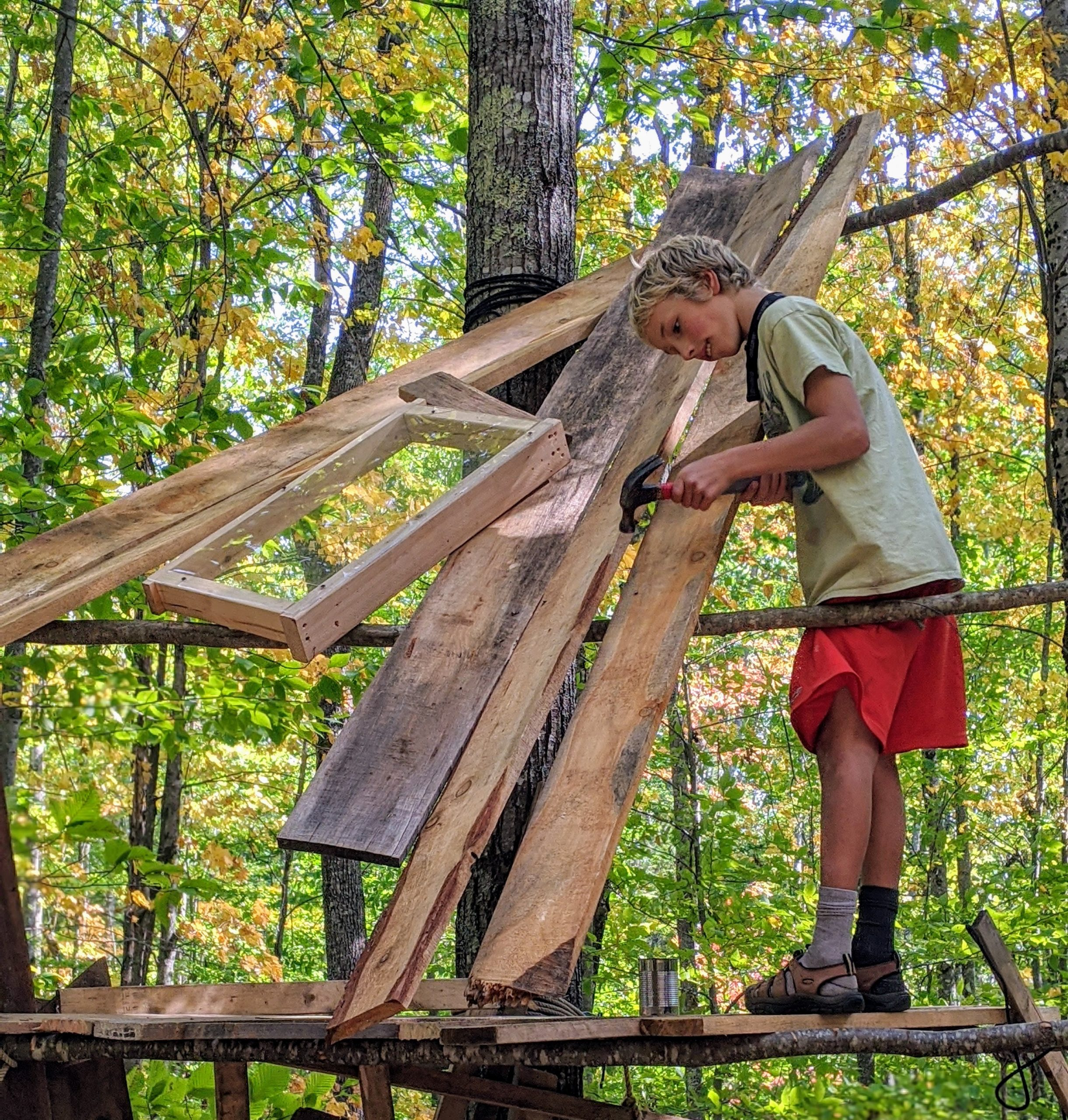 Woodland Tinkering - TimberNook of Greater Portland, Maine