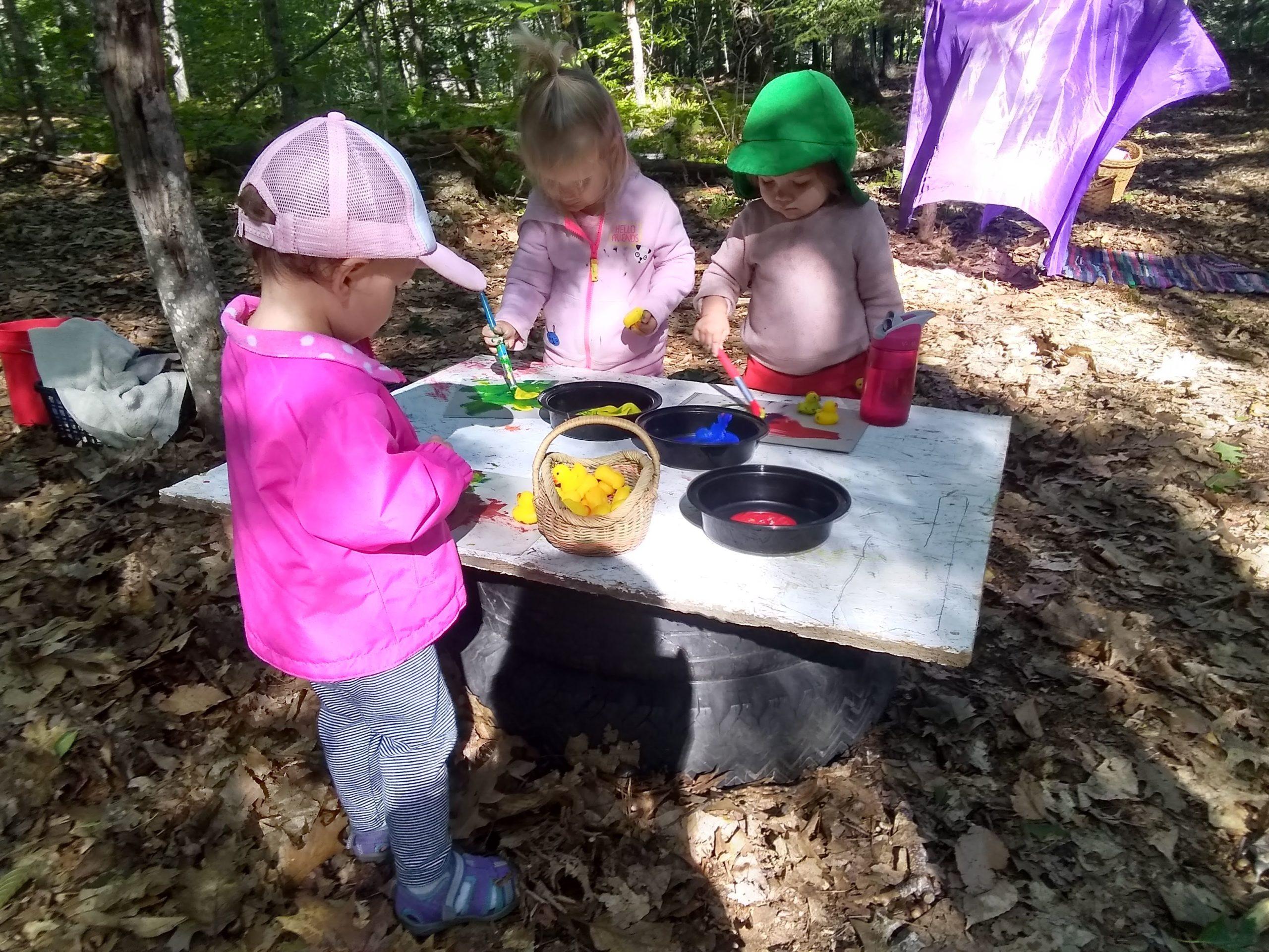 Tiny Ones Spring Thursdays - TimberNook of Greater Portland, Maine