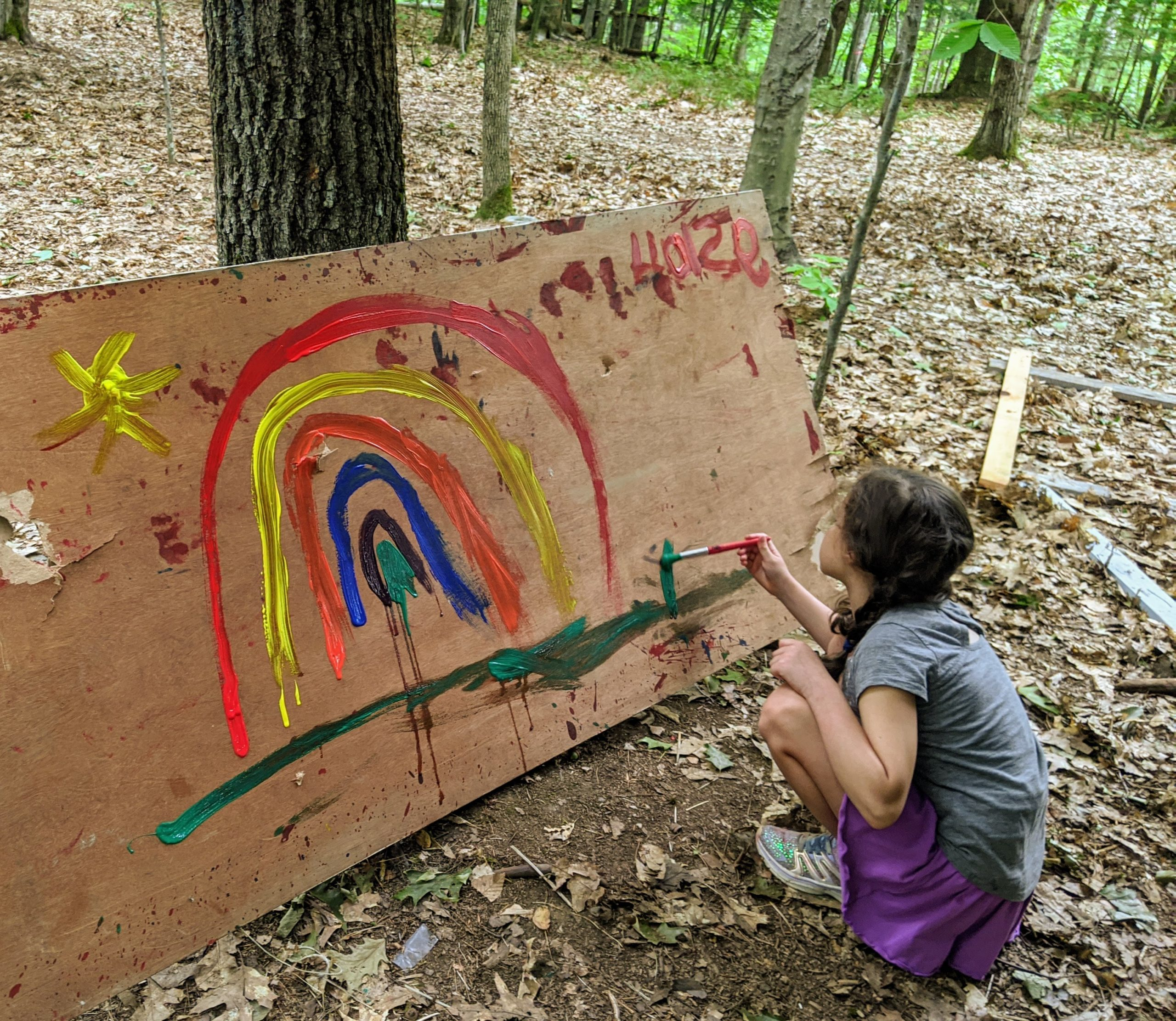 Extreme Art – TimberNook of Greater Portland, Maine
