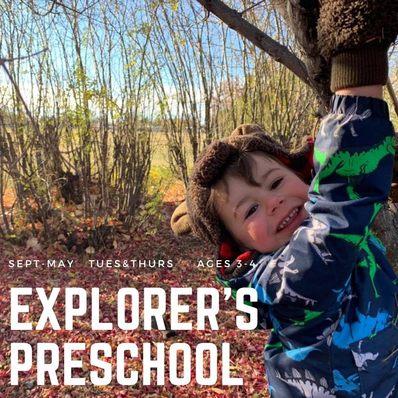 Explorers Preschool TimberNook Outdoor Education
