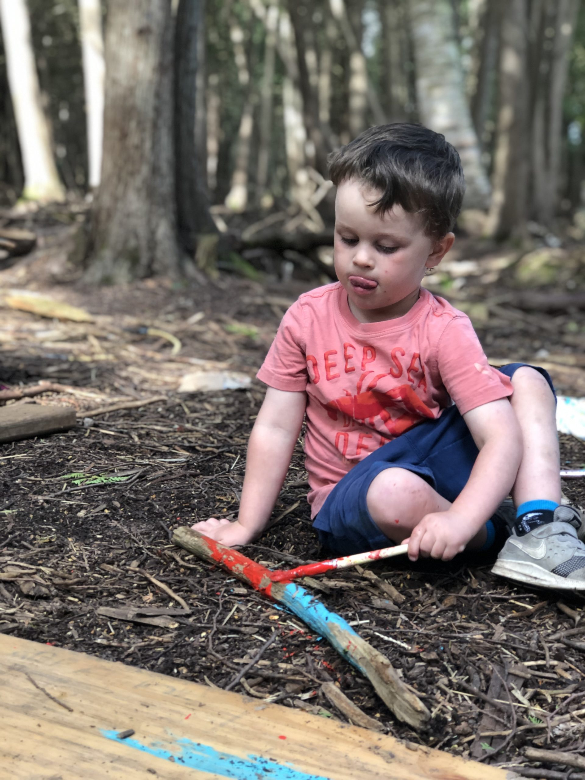 Barefoot and Buckets: Rainbow 2021 - Timbernook Peterborough