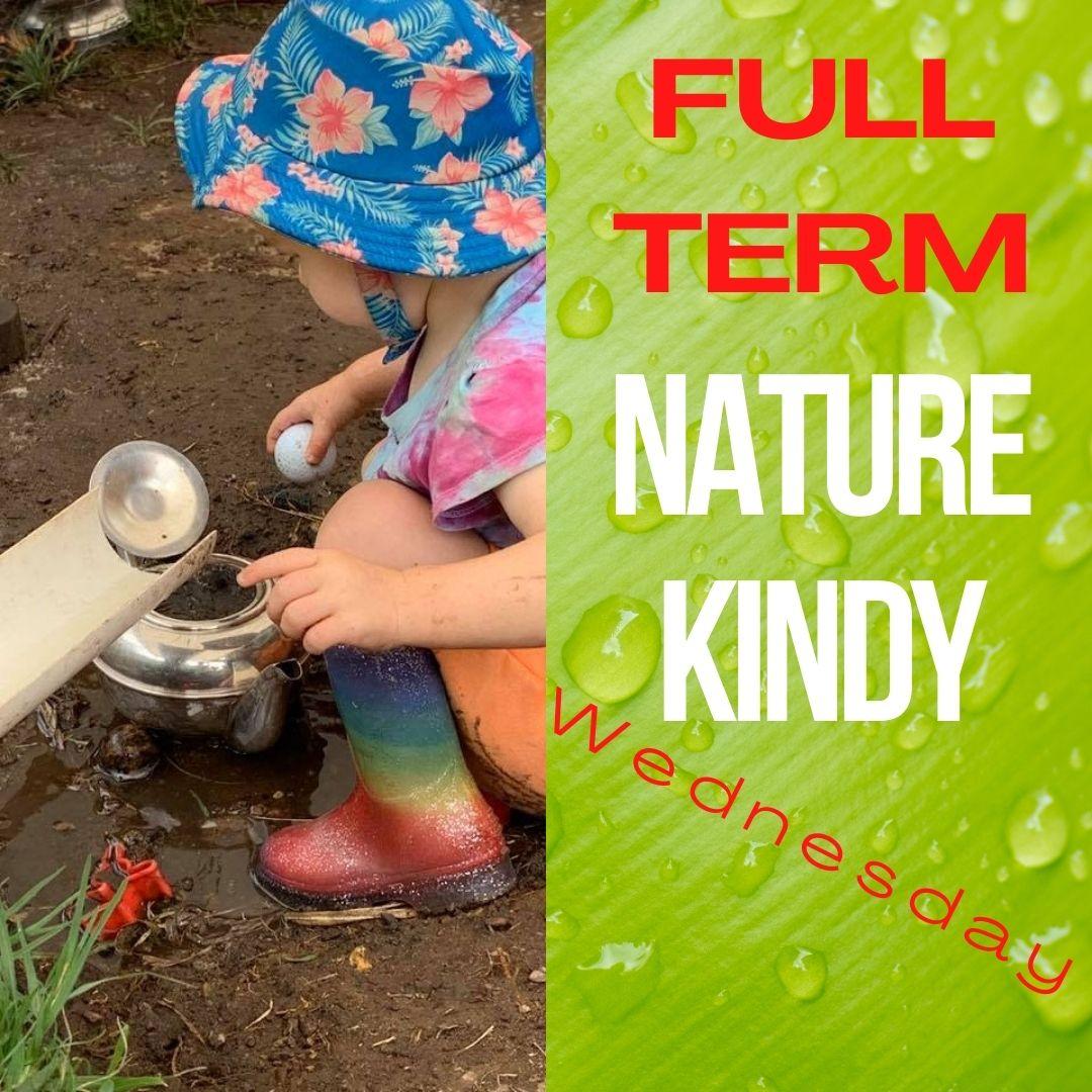 Nature Kindy (Australia) - FULL TERM 10 Weeks Wednesdays - Timbernook Hunter Valley