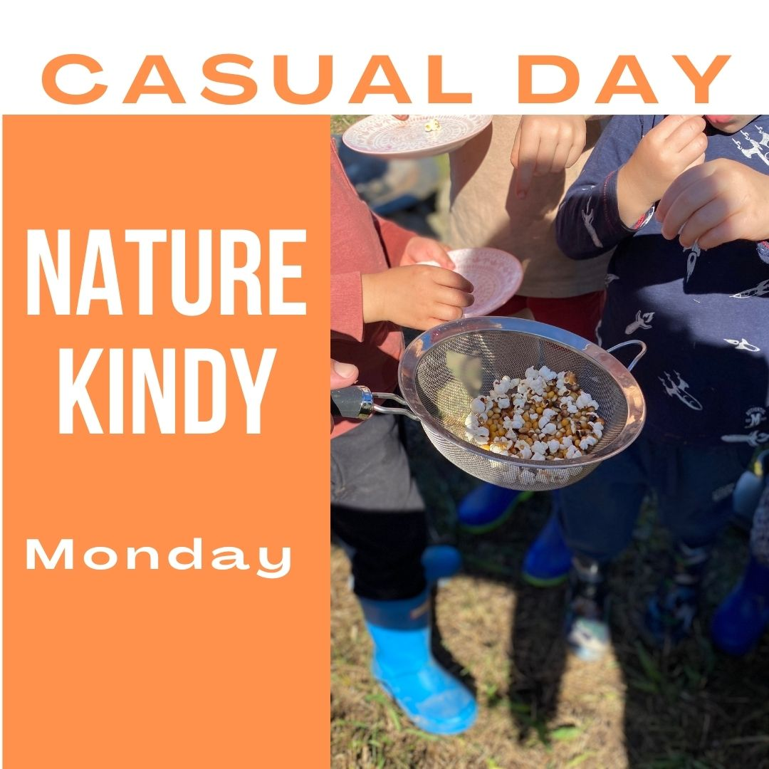 Nature Kindy - Casual Day - Monday 16th August